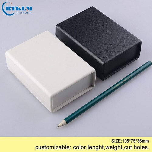 Plastic enclosure custom junction box ABS diy electronic project box Instrument case electrical distribution box 105*75*36mm