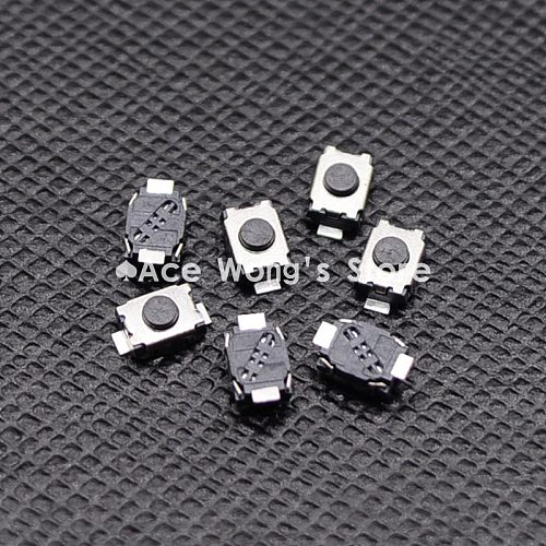 Free shipping 50PCS SMD 2Pin 3X4MM Tactile Tact Push Button Micro Switch Momentary