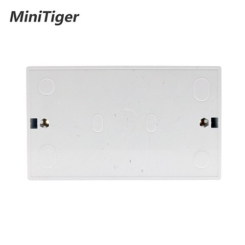 Minitiger External Mounting Box 146mm*86mm*32mm for 146*86mm Standard Touch Switch and Socket For Any Position of Wall Surface
