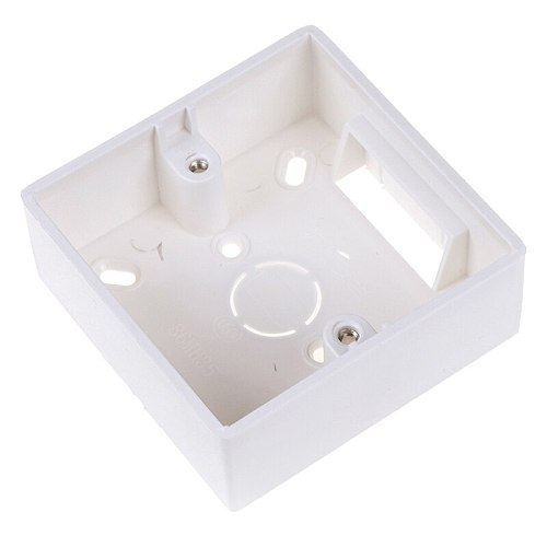 Mounting Box Internal Cassette 86mm*83mm*35mm For 86 Type Switch and Socket White Color Wiring Back Box
