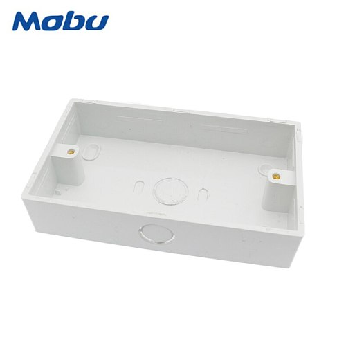 Minitiger 146mm*86mm*32mm Wall Surface External Mounting Box  for Any Position of 146*86mm Touch Switch and Socket