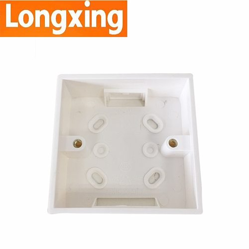 Dark Box 3 Types Standard PVC Wall Switch Box for 86mm*86mm Standard Switches and Sockets Apply For Any Position of Wall Surface