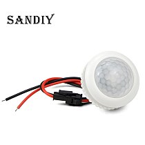 Motion Sensor Switch For Light Bulb PIR Sensor Movement Detector 220V For LED Lamp Home Electrical Wire Connection DIY