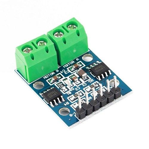 1 Piece L9110S DC Stepper Motor Driver Module Board H Bridge L9110 Controller Board Stepper for Arduino L9110S H-bridge Stepper