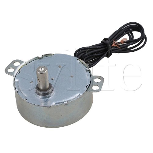 Synchronous Motor AC 220-240V 50/60Hz 4W 5/6 RPM Robust TYC-50 Torque 4KGF.CM