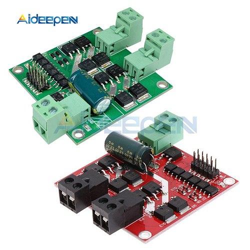 160W 7A 12V 24V Dual Channel DC Motor Driver Module H-bridge L298 Logic Control Signal Optocoupler PWM Drive Reversing Braking