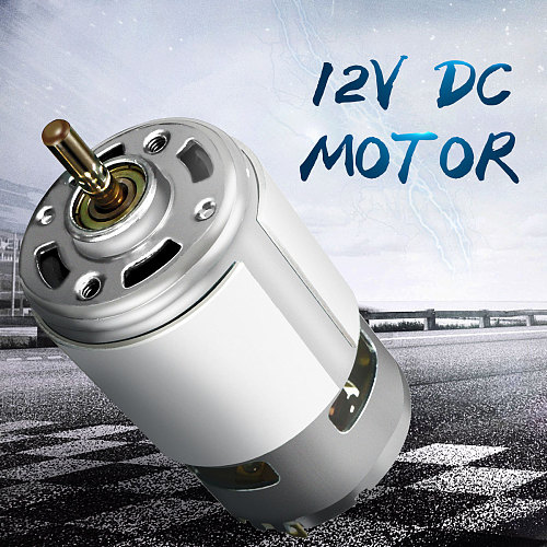 DC Motor 12V 100W 15000rpm 775 High Speed DC Large Torque  Motor Ball Bearing Tools Electric Motor Tool Electric Machinery