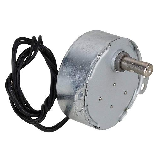 Synchronous Motor AC 220-240V 10-12RPM 50/60Hz 4W CCW/CW TYC-50 7mm Dia Shaft