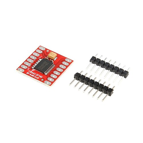 TB6612FNG Dual DC Stepper Motor Control Drive Expansion Shield Board Module for Arduino Microcontroller Better than L298N