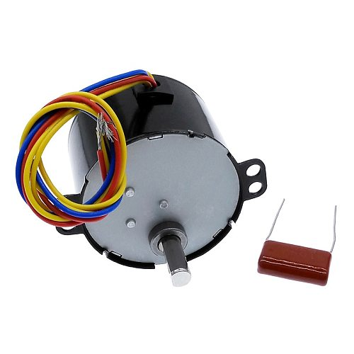 50KTYZ AC motor permanent magnet synchronous motor AC 220V speed reducer motors controllable positive and negative inversion 6W