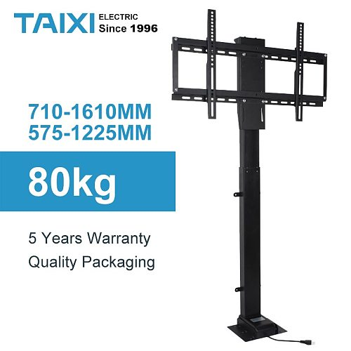 TV LIFT Height Adjustable TV Mount Electric lifting support for TV Applicable to 32'~70'-inch Motorized Vertical Stand Lift