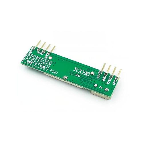 4pcs/lot RXB6 433Mhz Superheterodyne Wireless Receiver Module ARM/AVR RXB6-2.0