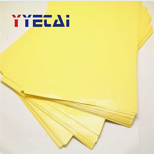 Yellow PCB Thermal Transfer Paper A4 Size Circuit Board Standard