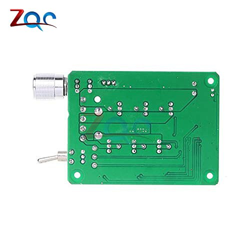 15A BLDC Three-Phase Sensorless Brushless Motor Speed Controller Explosive Fan Drive DC 5-36V 12V 24V With Potentiometer Switch