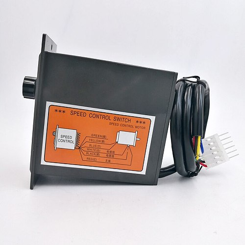 US-52 220V 400W ac speed controller ac regulator motor control forword backword with filter capacitor 6W 60W 250W 300W