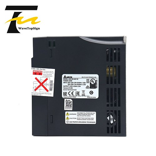 DELTA  AC servo 400W B2 0.4KW 1.27NM 3000rpm 60MM ASD-B2-0421-B ECMA-C20604RS motor drive kit with 3m Cable