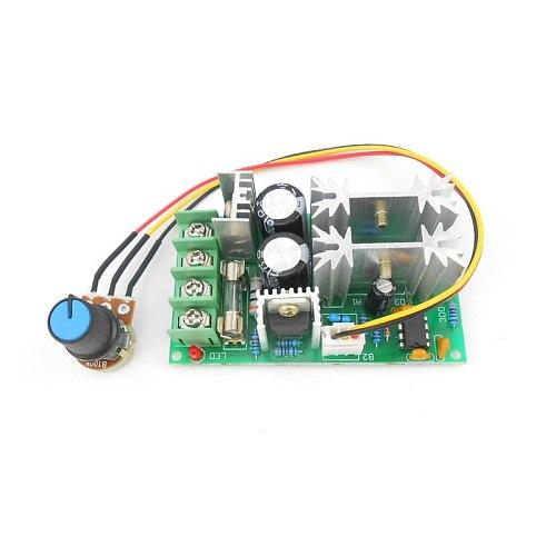 DC motor speed regulator 12V 24V 36V 48V High power drive module PWM Motor speed controller 20A current regulator