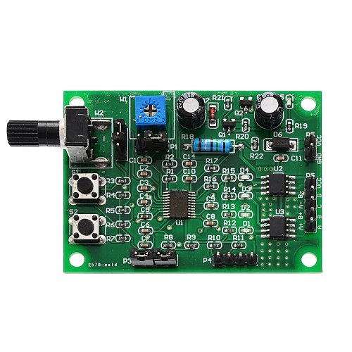 New DC 5V-12V 2-phase/4-phase Mini Stepper Motor Driver Board Multifunctional Motor Speed Controller