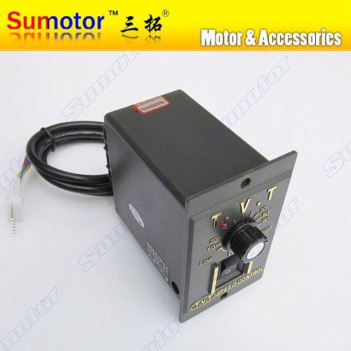 AC 110V 220V motor electrical speed controller Governor 6W 15W 25W 40W 60W 90W 120W 200W Adjustable regulator switch control