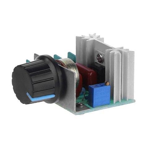 Electronic Thyristor Dimmer Regulator 2000W Imported Thyristor High Power Dimmer Regulator Speed Control Temperature Regulation