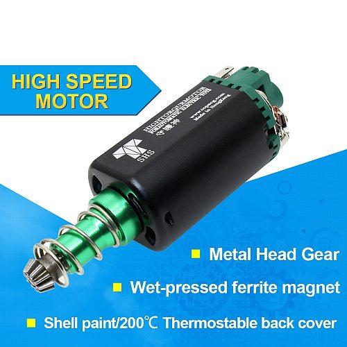 SHS AEG Motor 11.1V 38000 High Twist Type Speed Motor long Axle for Airsoft M16/M4/MP5/G3/P90 Airsoft AEG Motor