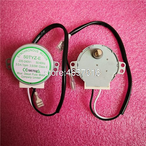 Brand new for ice cube machine HZB-25BF/25A synchronous motor 50TYZ-E 220V~240V 3.5/3W 3.5RPM AC motor