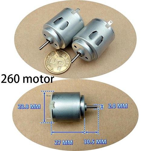 1PC New DC 5V 260 Strong magnetic Large torque Motor 9600 RPM for DIY model making