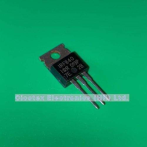 10pcs/lot IRF840 TO-220 IRF 840 PBF MOSFET N-CH 500V 8A TO-220AB IRF840PBF IR840 IRF840NPBF
