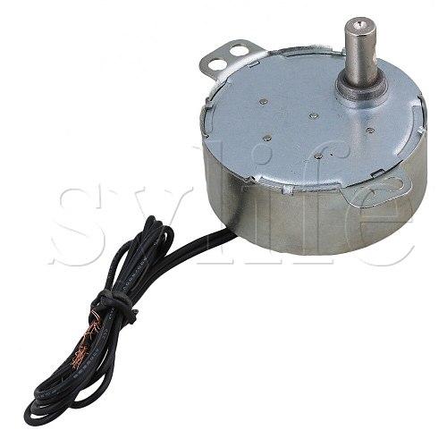Turntable Synchronous Synchron Motor 50/60Hz AC 220V 4W 15-18RPM CCW/CW TYC-50