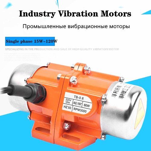 single phase Industry Mini Vibration Motors 220V /110V copper line Motors For blanking mixer industry vibrating motor