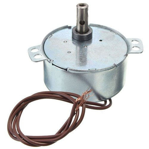 AC 220-240V Turntable Synchronous Motor 15/18 r/min 3.5/3W CW Widely used in electric fans heaters microwave oven