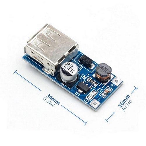 3PCS DC-DC boost module (0.9V~5V)  5V 600MA USB boost circuit board 5V output