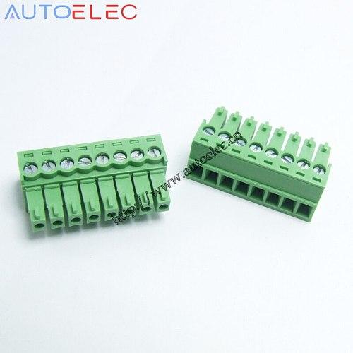 100pcs/lot  3.81mm pitch 8P pcb plug-in  terminal blocks 2EDGK PCB Female Pluggable connector  MC1.5/8-ST-3.81  1803633