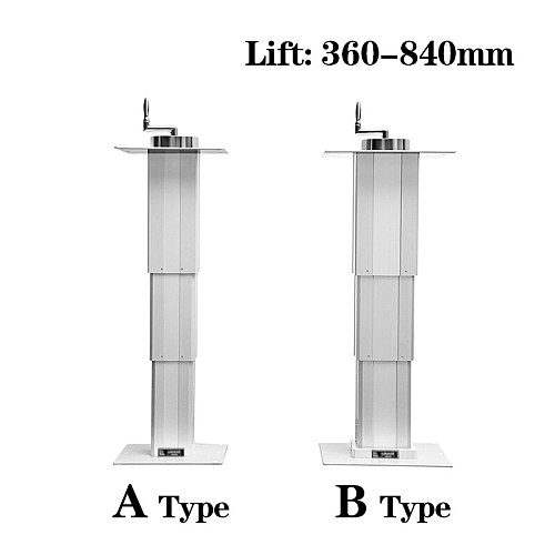 Manual tatami lift lifting table Max 65kg lift platform Lift 360-840mm for Manual adjustment height
