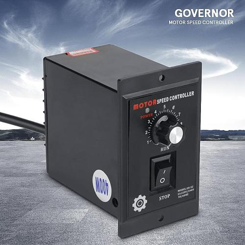AC Motor Speed Controller 400W AC 220V Motor Speed Pinpoint Regulator Controller Forward and Backward