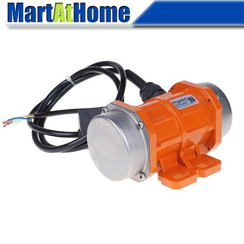 10W~30W 110V/220V/380V Vibrating Motor Adjustable Speed for Feeding Machine, Shotcrete Machine, Vegetable Washing Machine