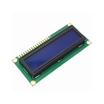 2pcs/lot LCD1602 1602 module Blue screen 1602A 16x2 Character LCD Display Module blue blacklight For arduino