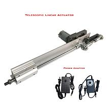 Telescopic Motor Adjustable 30-150mm Stroke Reciprocating Linear Mechanism