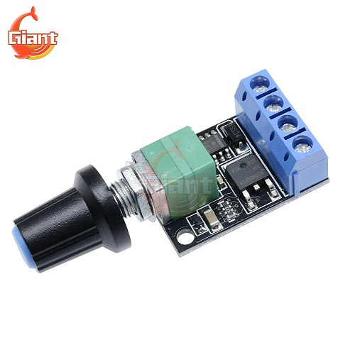 10A 5V 9V 12V DC Motor Speed Control PWM Potentiometer Governor Speed Regulation Board LED Dimming Ultra High Linearity Band