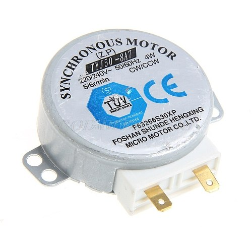 220-240V 4W Synchronous Motor for Air Blower TYJ50-8A7 Microwave Oven Tray Motor Drop Shipping
