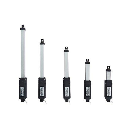 12V Linear Actuator Aluminum Alloy Small Electric Push Rod Mini Linear Motor