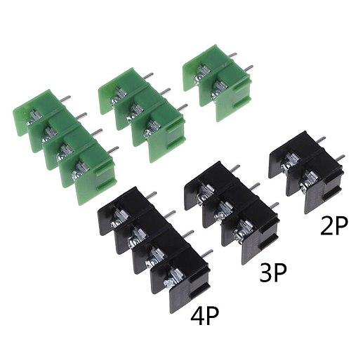 10Pcs/lot New 300V/20A 7.62 mm KF7.62 - 2P 3P 4P Screw Terminal Block Connector 7.62mm Pitch