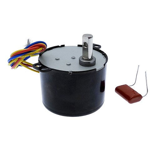 50KTYZ Permanent magnet synchronous motor AC 220V speed reducer motors controllable positive and negative inversion 6W