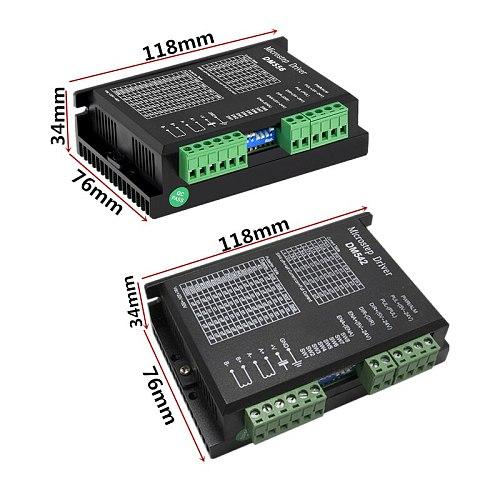 24C-50VDC 4.2A Digital DM542/dc 20-50v 5.6a DM556 stepper motor driver for 2-phase nema 17 and 23 stepper motor