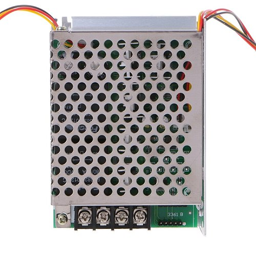 DC 10-55V 12V 24V 36V 60A PWM DC Motor Speed Controller CW CCW Reversible Switch
