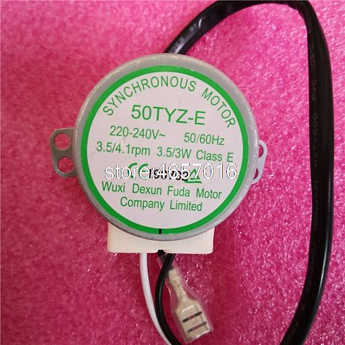 Brand new for ice cube machine HZB-25BF/25A synchronous motor 50TYZ-E 220V-240V 3.5/3W 3.5RPM AC motor