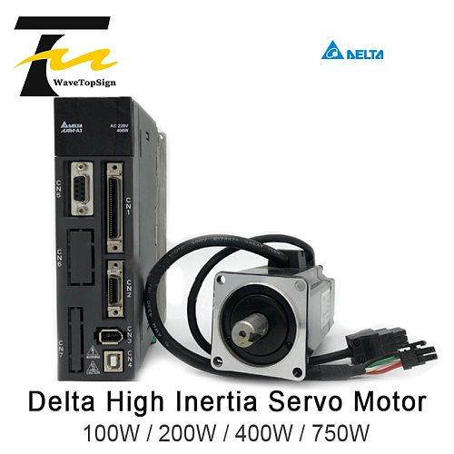 Delta Servo Motor A2 Series 100W 200W 400W 750W ASD-A2-0121 0221 0421 0721-L/M+Motor