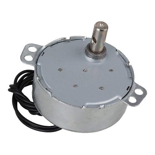 TYC-50 Synchronous Motor AC 220V 4-5r/min 50/60Hz CW/CCW 4W 10mm Length Shaft