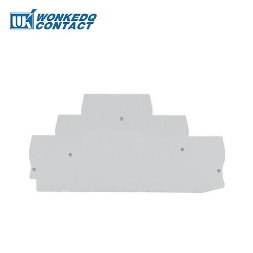 D-ST 1.5-2.5 And D-ST 4 End Cover  ST and PT Series Din Rail Terminal Blocks End Cover plate L99/H51/W2.2 mm
