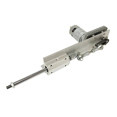 Telescopic Linear Actuator High Power 40Kg.cm Stroke 80mm Display Power Adapter With Speed control